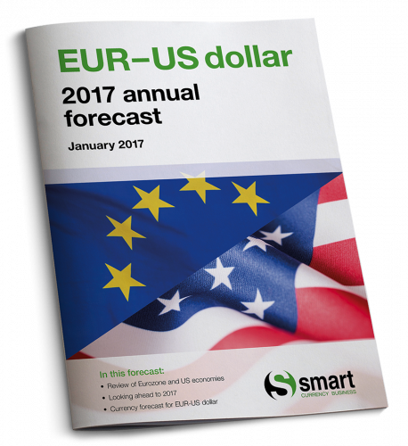 Euro-US dollar 2017 annual forecast