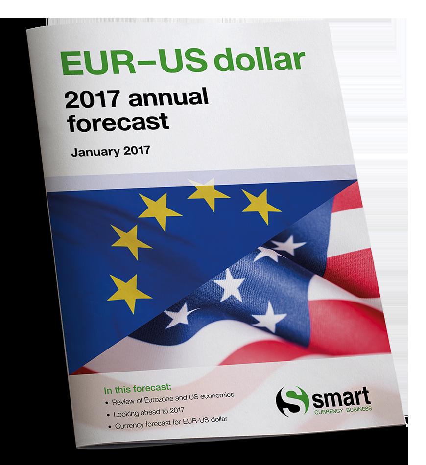 Euro-US dollar 2017 annual forecast