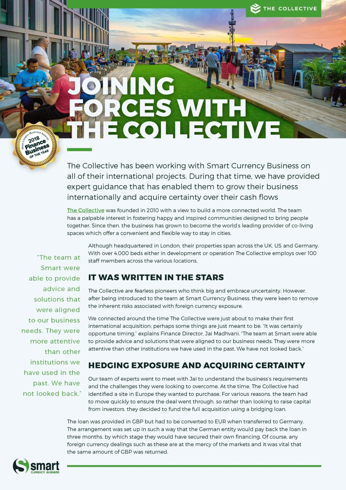 The Collective Case Study