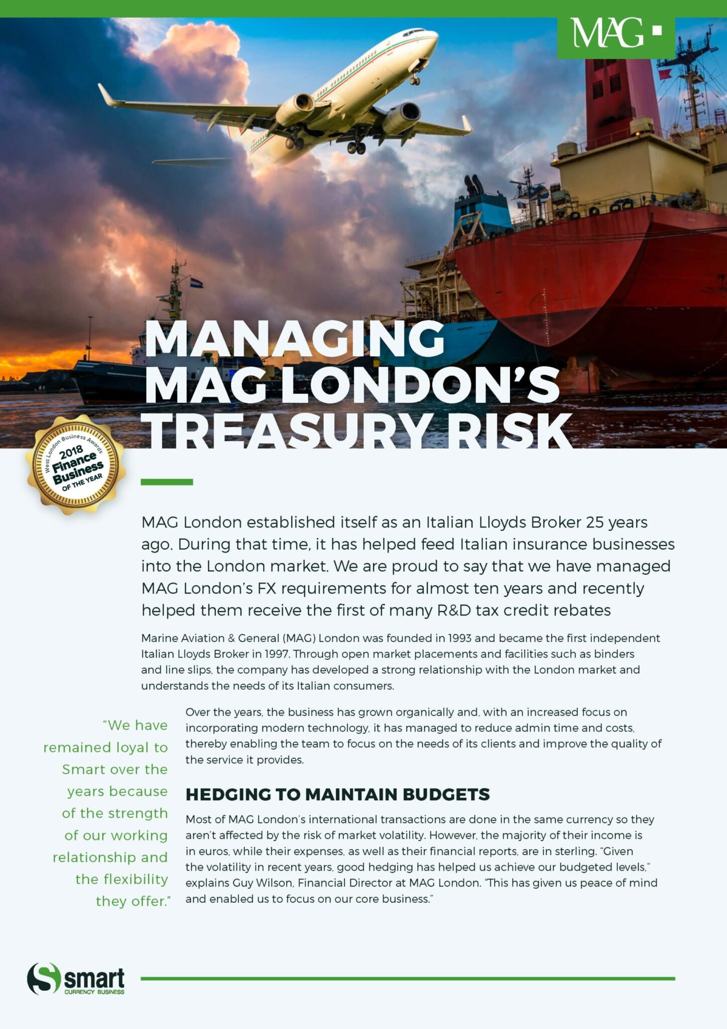 MAG London Case Study