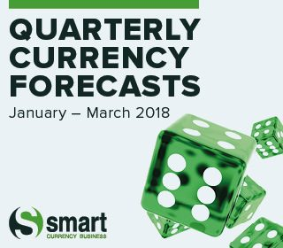 Currency Forecasts - January to March 2018
