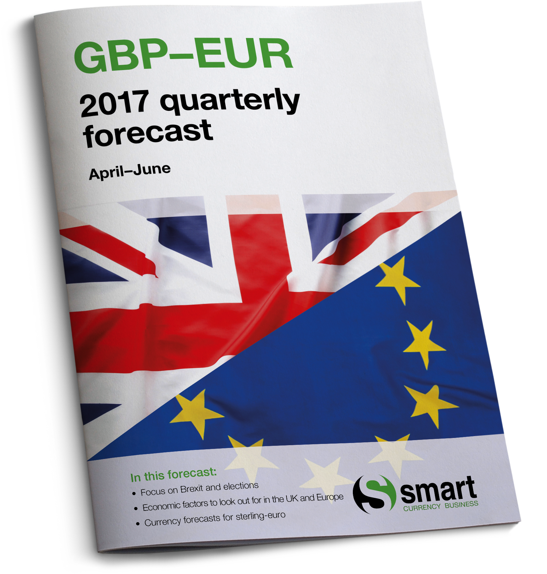 Sterling-euro forecast for April to June 2017
