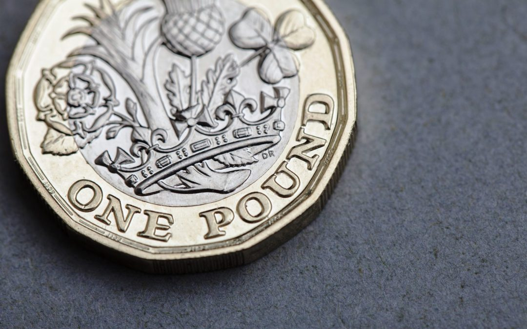 Sterling slips from post-Brexit high