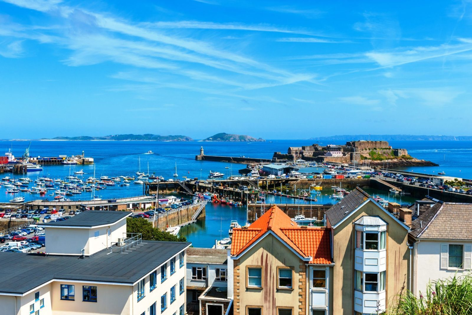 UK port in Guernsey