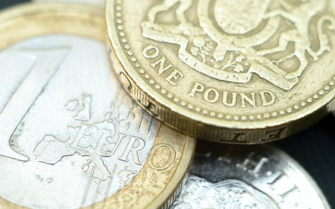 German data pushes sterling down, dollar remains strong