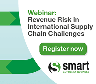 Register for our Revenue Risk in International Supply Chain Challenges Webinar
