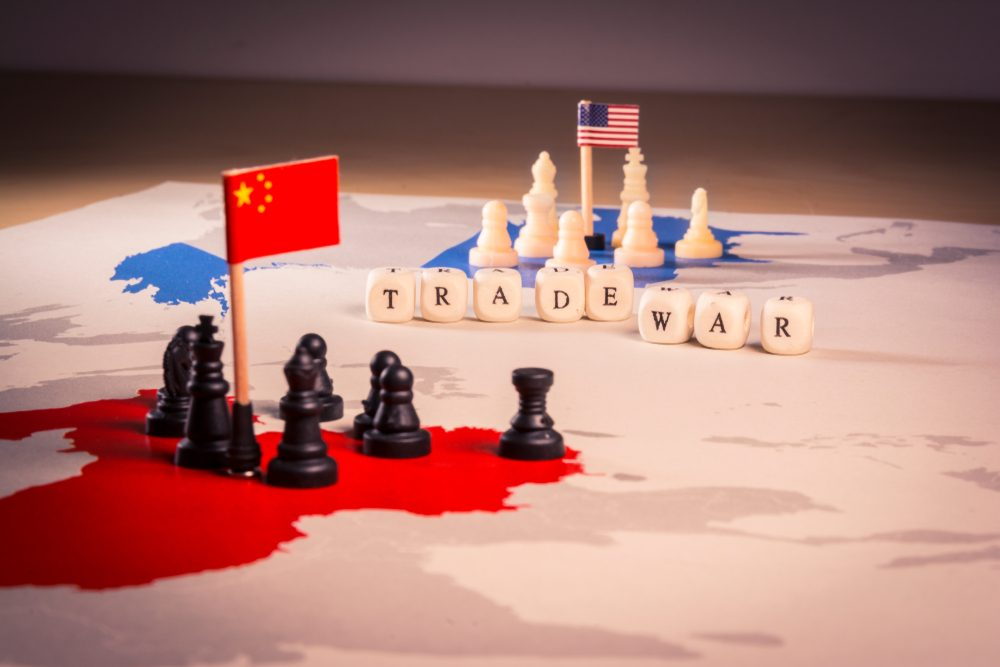 ongoing trade war