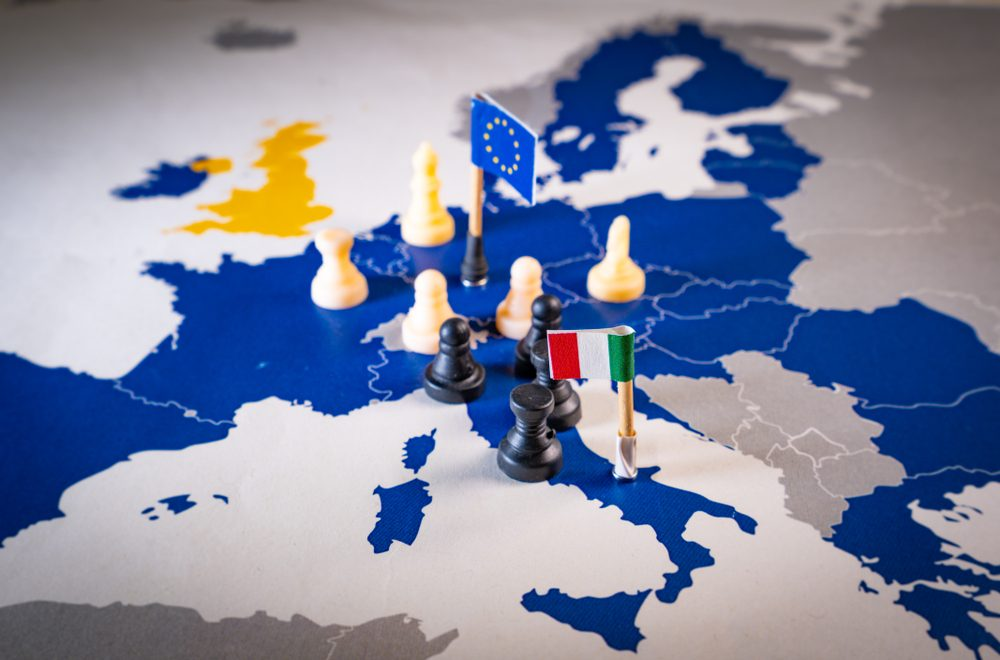 EC rejects Italian budget