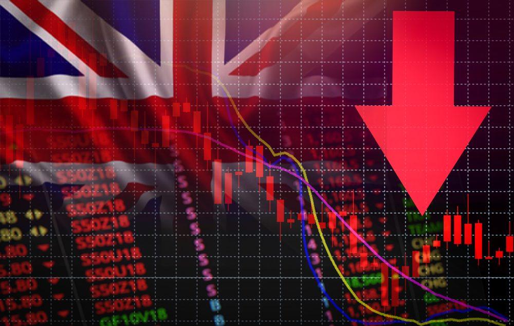 UK economy slumps