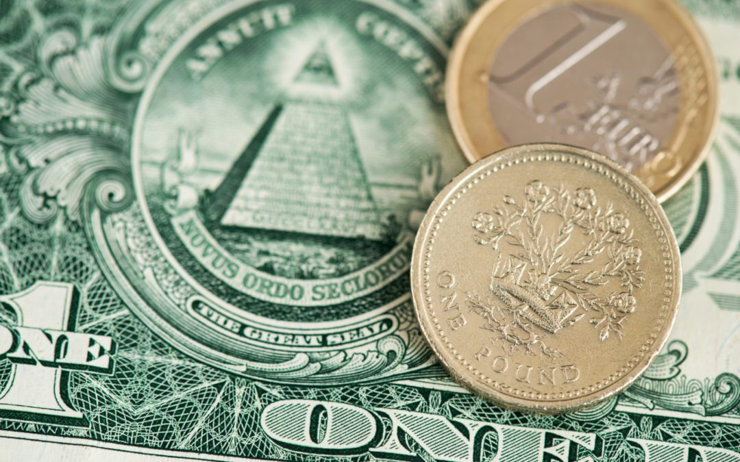 Sterling and euro benefit from dollar's weakness