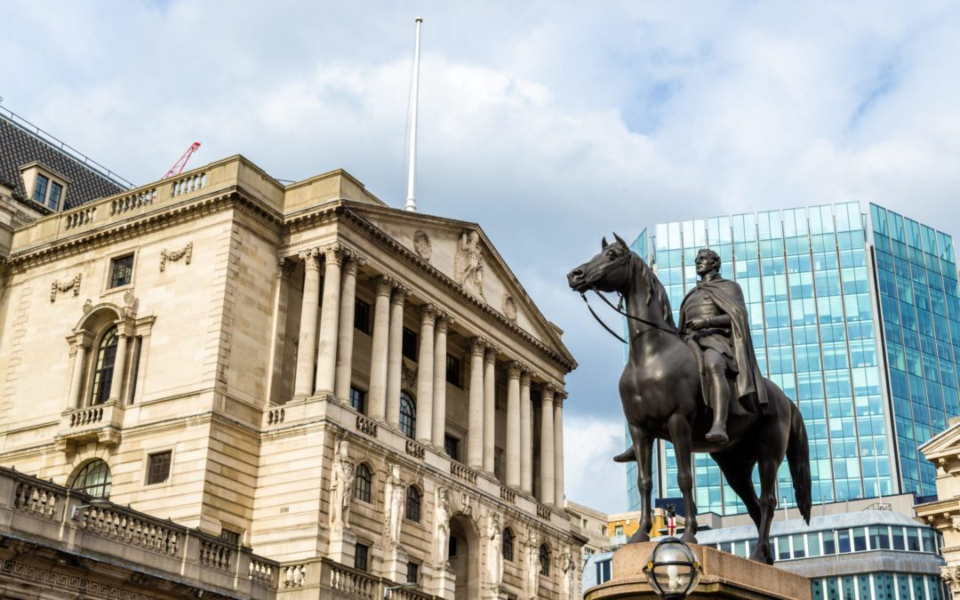 Pound bounces back ahead of Bank of England rate decision