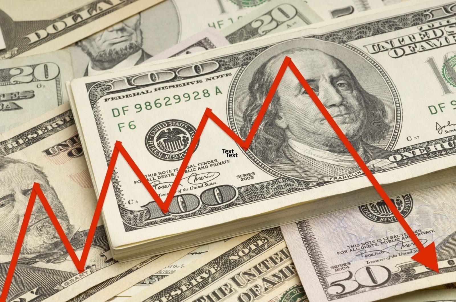 dollar loses