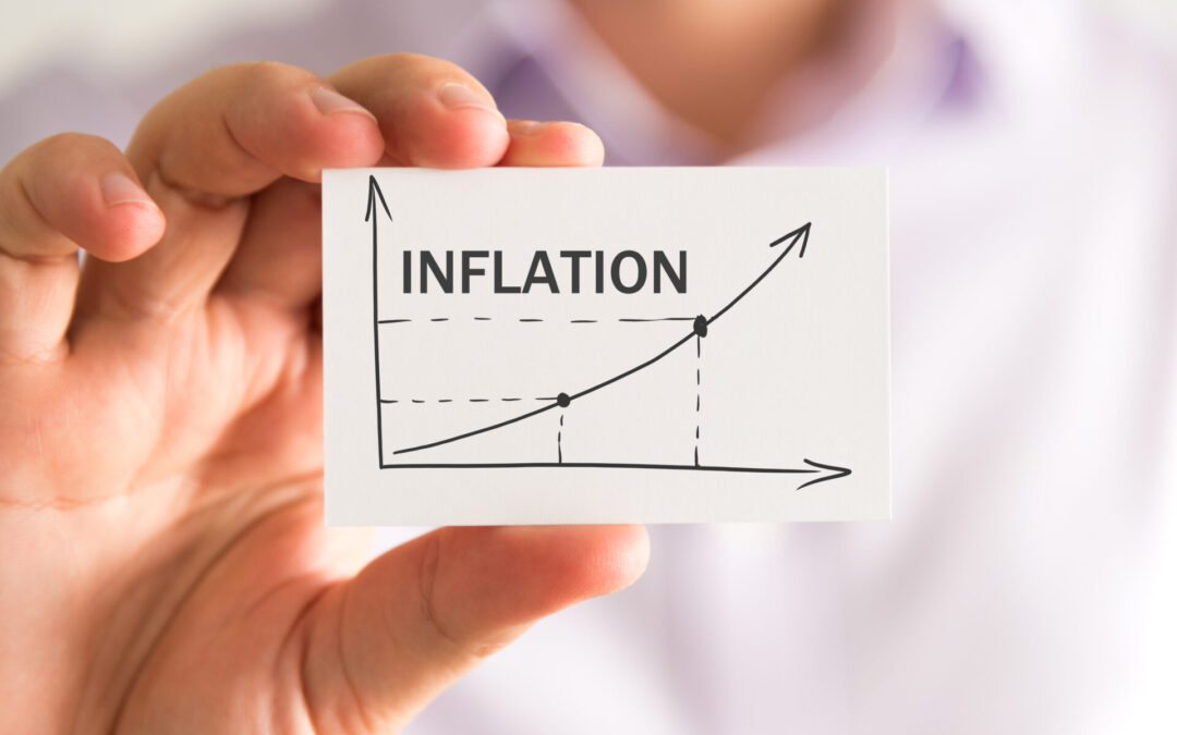 Pound strong as inflation rises