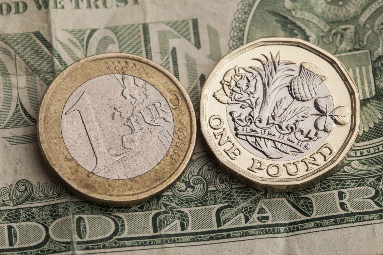 pound up euro dollar