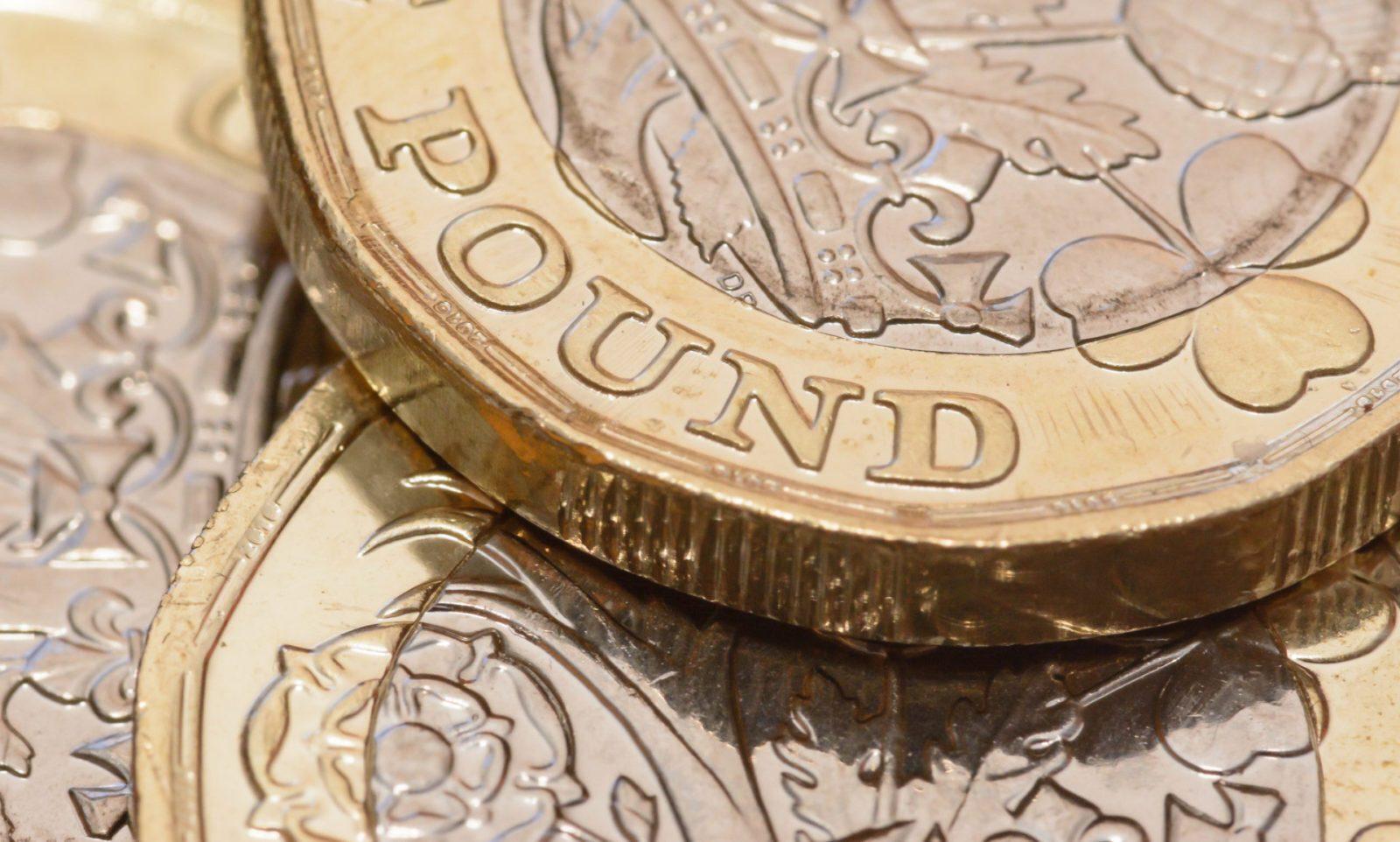 pound regains ground