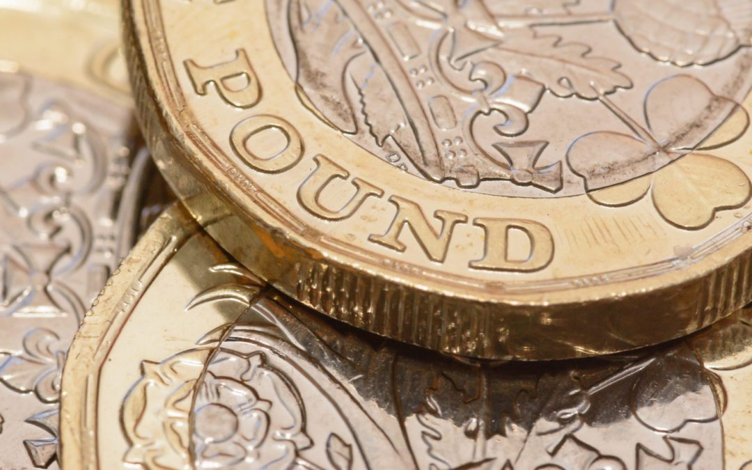 Sterling lowers after near 7-month high
