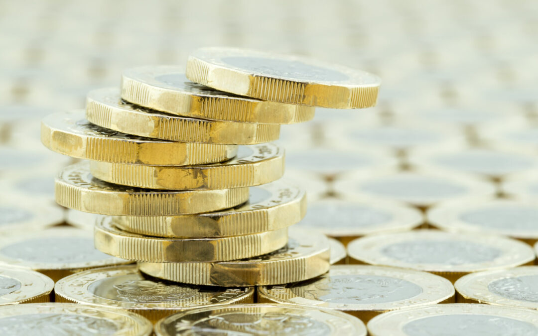 Pound hits three-month high against dollar