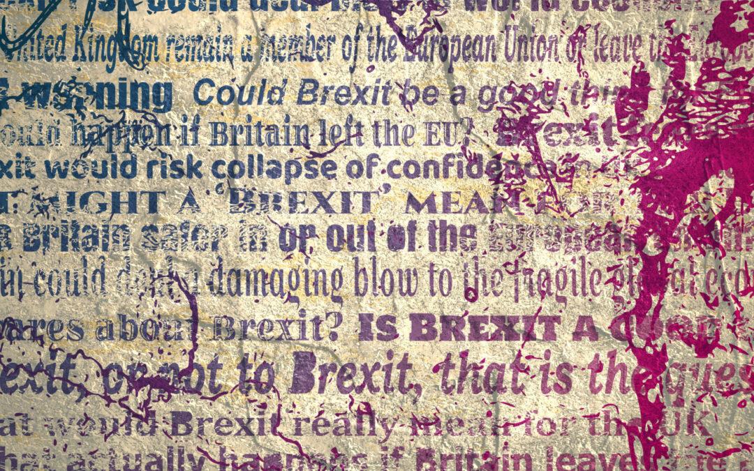 Brexit headlines impact pound